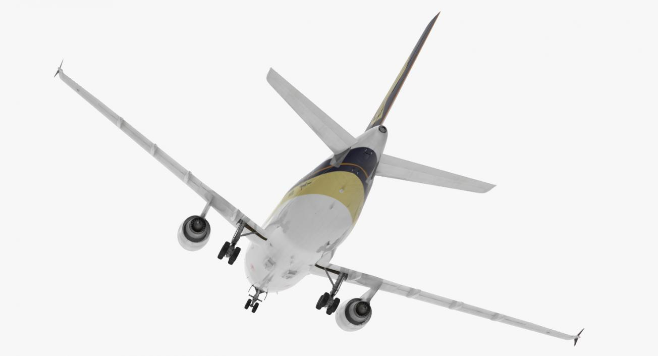 3D Airbus A310-300 Singapore Airlines Rigged