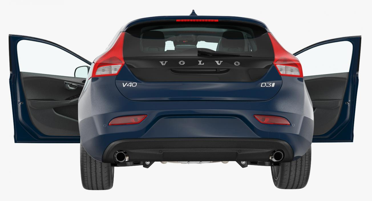 Volvo V40 Hatchback 3D model