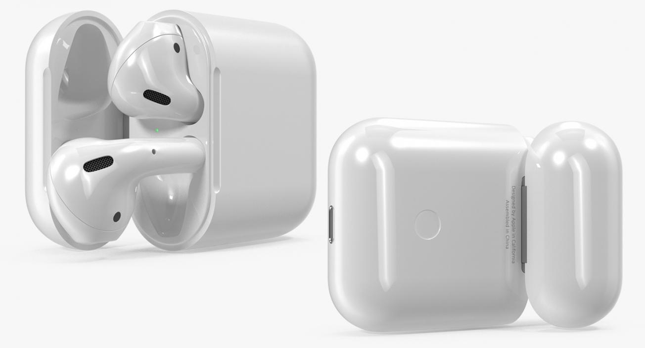 Apple AirPods Set 3D