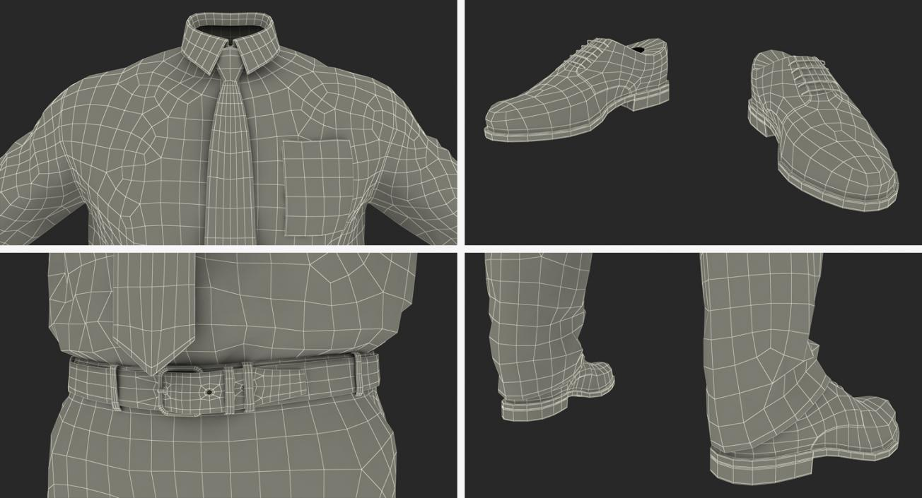 3D Formal Office Wear for Men