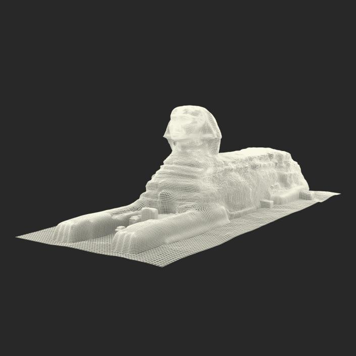 3D model Great Sphinx of Giza