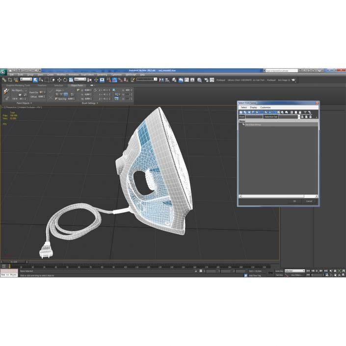 Blue Iron 3D model