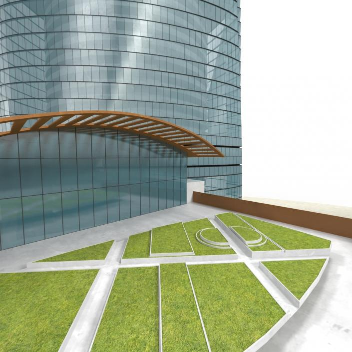 3D model Shanghai Tower China