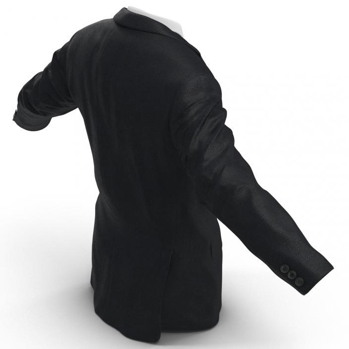 3D Mens Suit Jacket 2 model