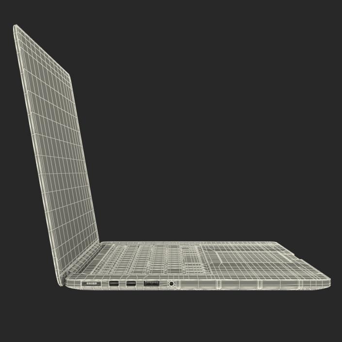 MacBook Pro with Retina Display 15 Inch Model 2 3D