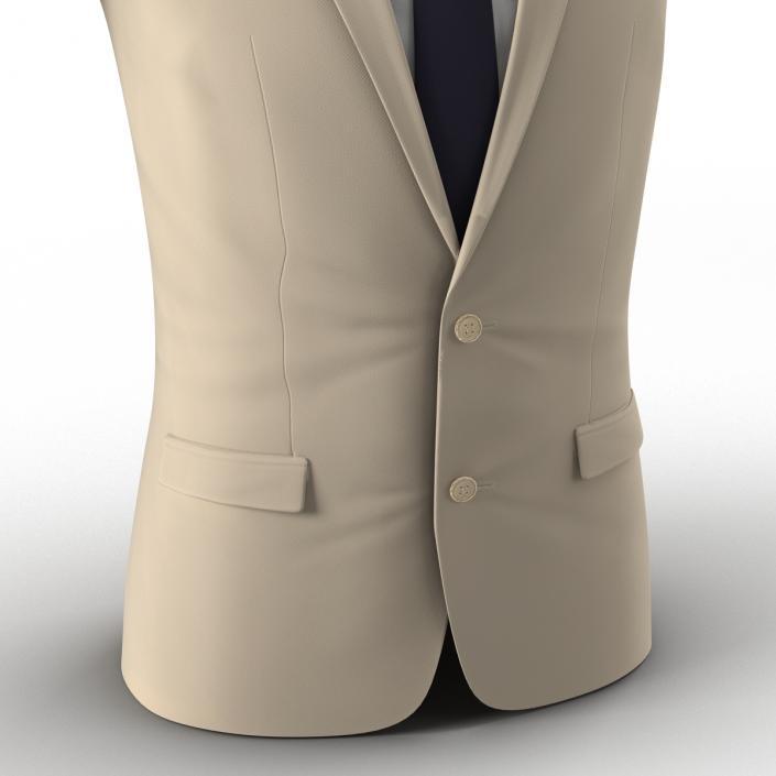 3D Mens Suit Jacket 8 model