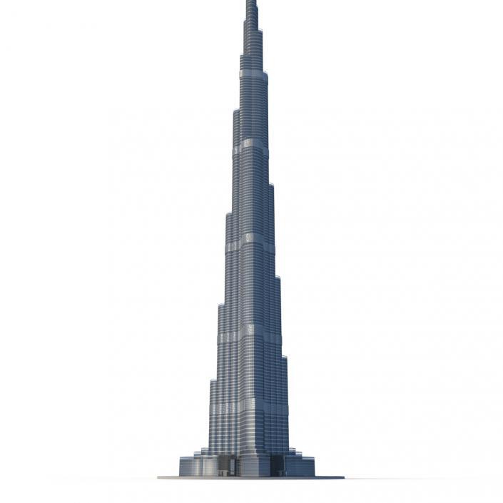 Burj Khalifa 3D