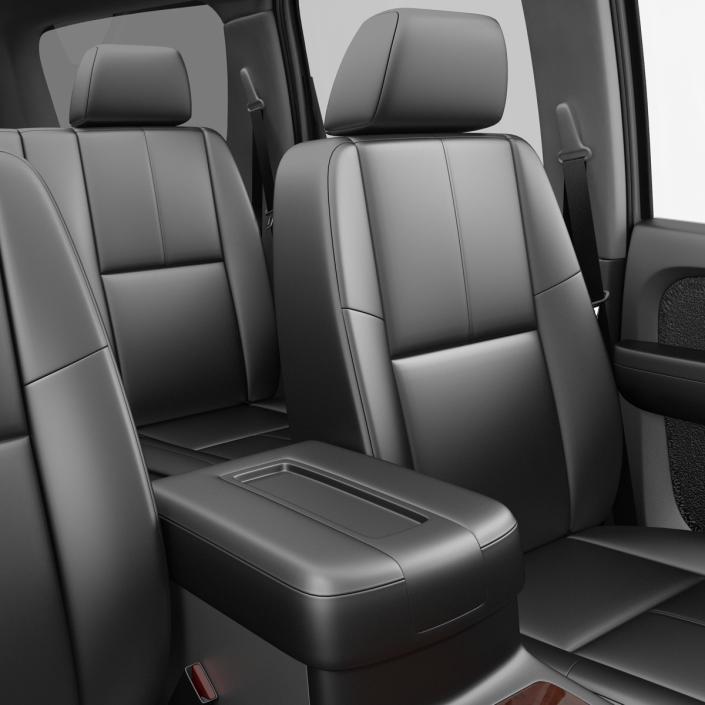 3D Chevrolet Suburban 2014 model