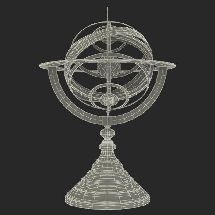 3D model Antique Globe 4