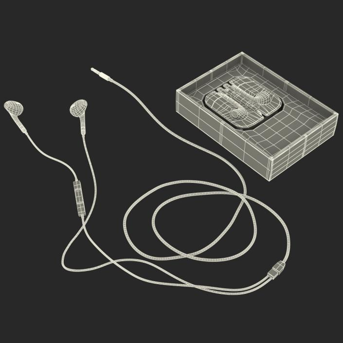 Apple EarPods with Remote and Mic Set 3D