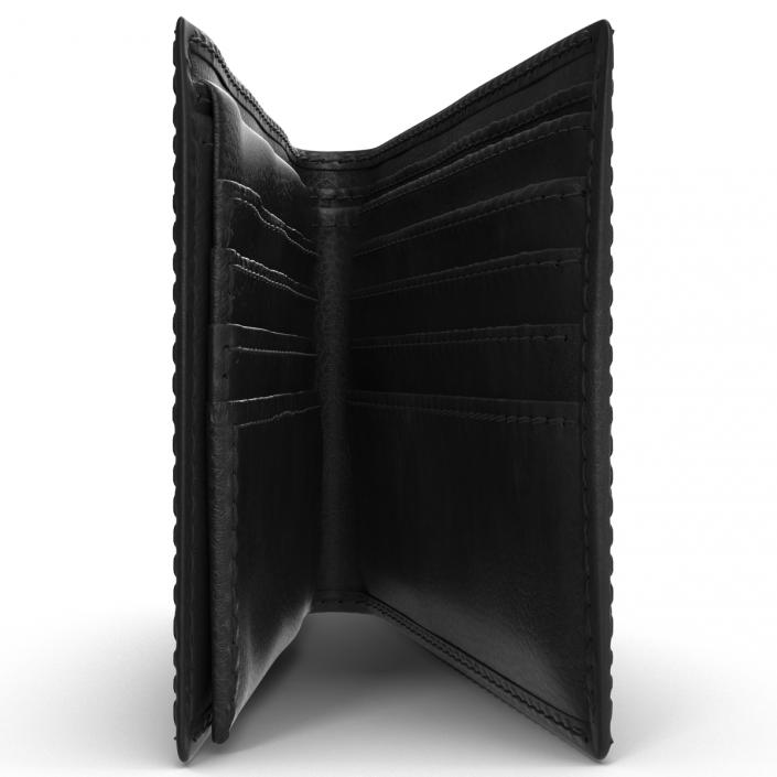 Leather Wallet 3D model