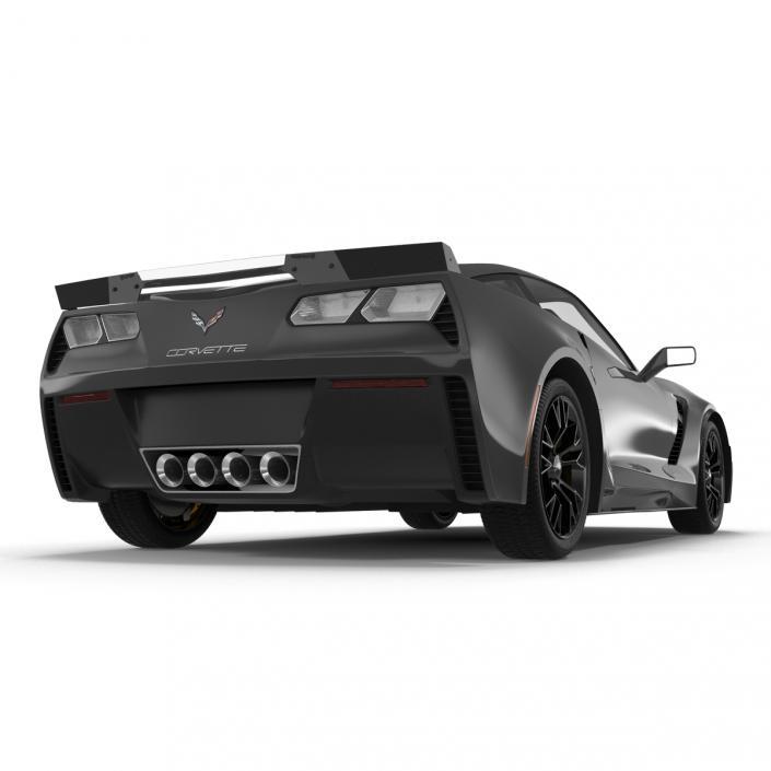 Chevrolet Corvette 2015 Simple Interior 3D model