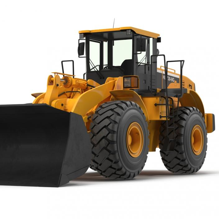 Generic Front End Loader 3D model