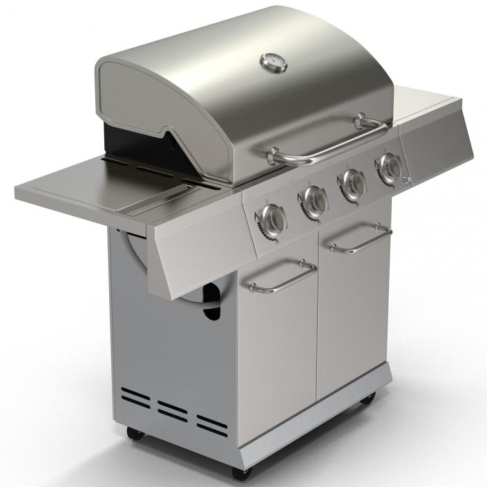 Gas Grill 3D model