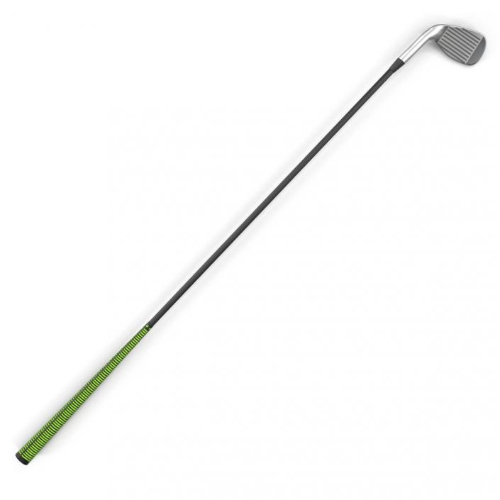 9 Iron Golf Club Generic 3D model