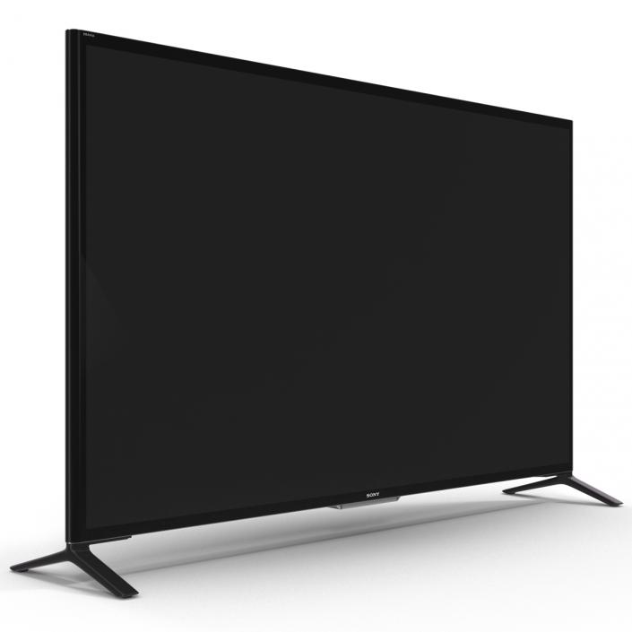 Sony 65 Inch 4K Ultra HD TV 3D Smart LED TV X950B 3D model