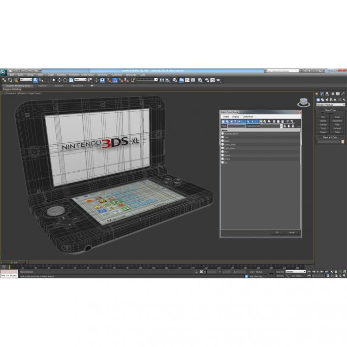 Nintendo 3DS XL Silver 3D