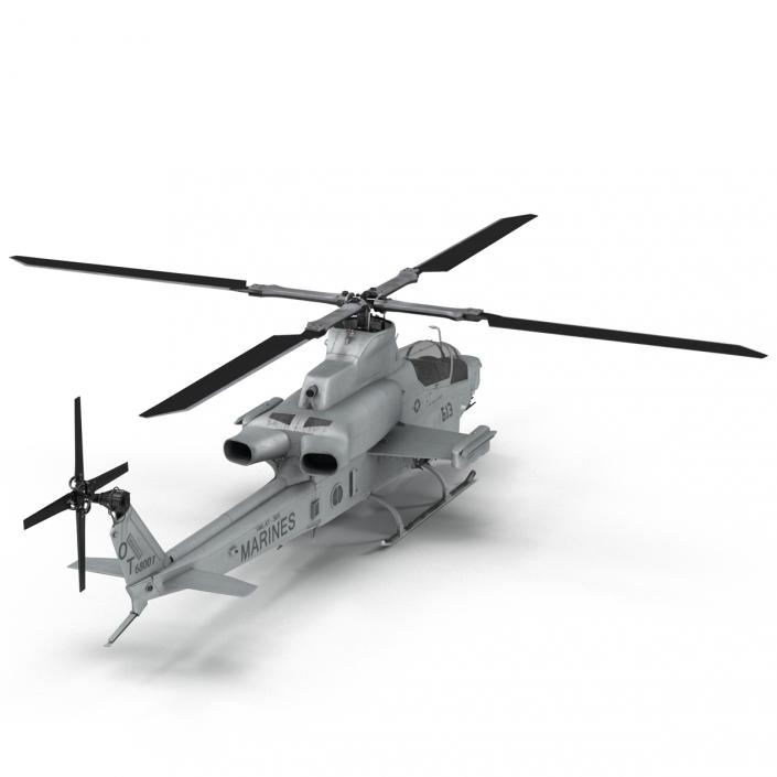 3D Attack Helicopter Bell AH 1Z Viper 2