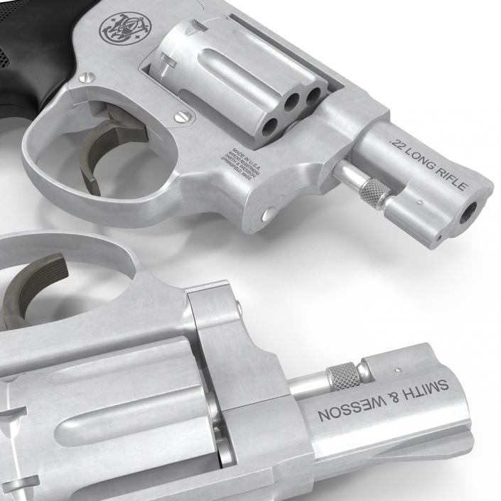 3D model Revolver Smith and Wesson | 3D Molier International