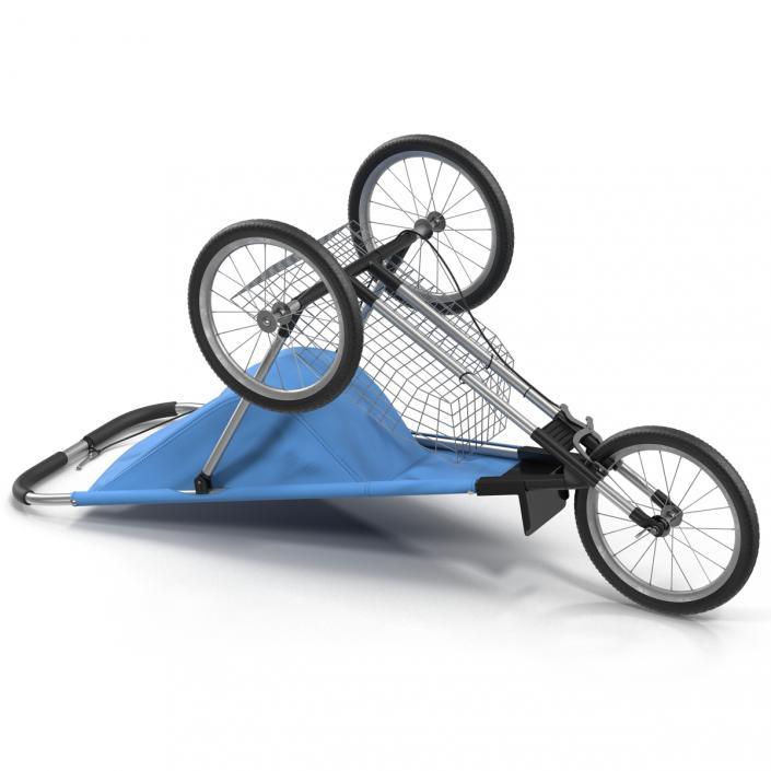 3D Jogging Stroller