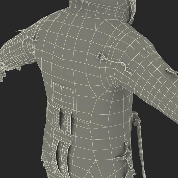 3D Russian Space Suit Sokol KV2 model