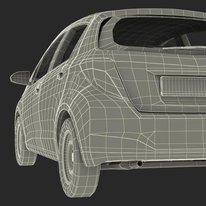 Generic Hatchback 3D