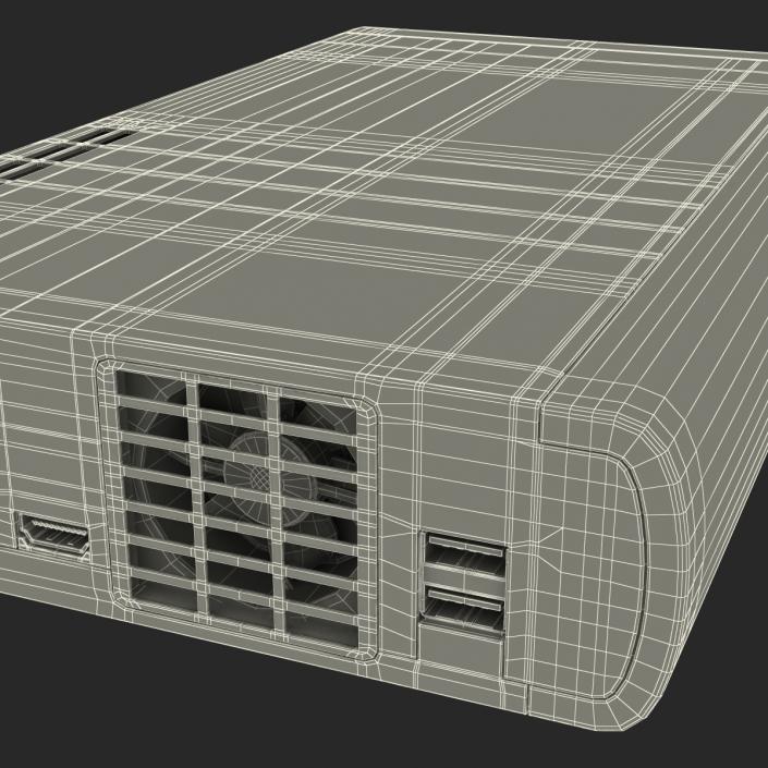 Nintendo Wii U Set White 3D model