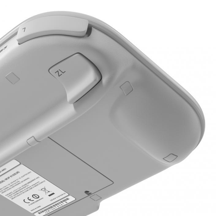 3D Nintendo Wii U Controller White