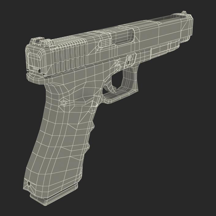 3D Generic Competition Pistol