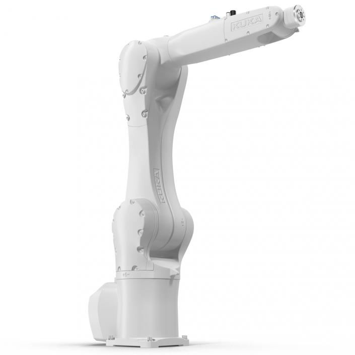 3D Kuka Robot KR 10 R1100 White model