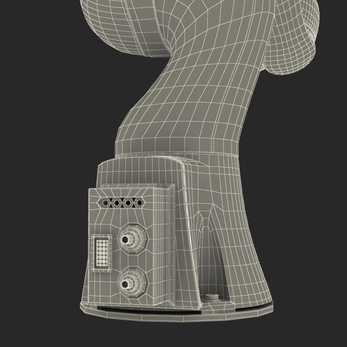 3D Kuka Robot LBR IIWA 7 R800