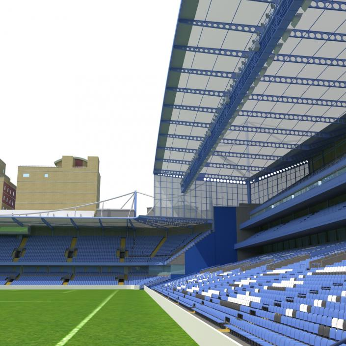 3D Stamford Bridge Stadium model