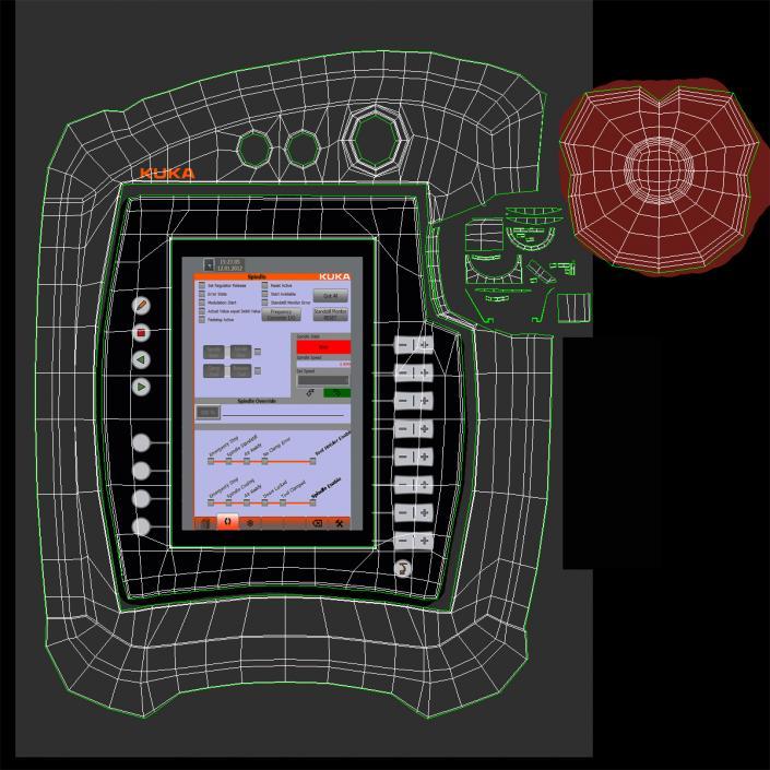 3D model Kuka Robot LBR IIWA 7 R800 Set | 3D Molier