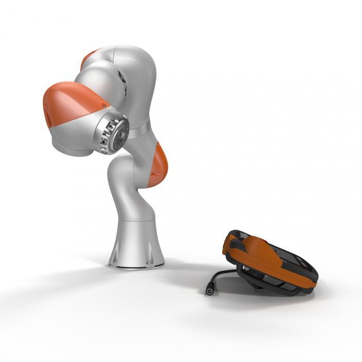 3D model Kuka Robot LBR IIWA 7 R800 Set