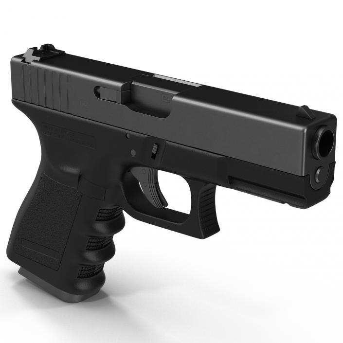 Compact Pistol Generic 3D