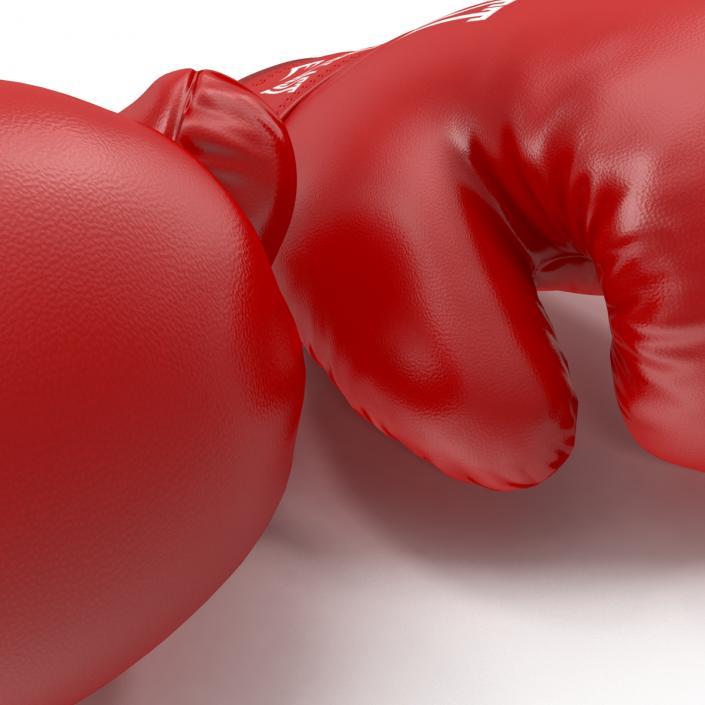3D Boxing Gloves Everlast Red