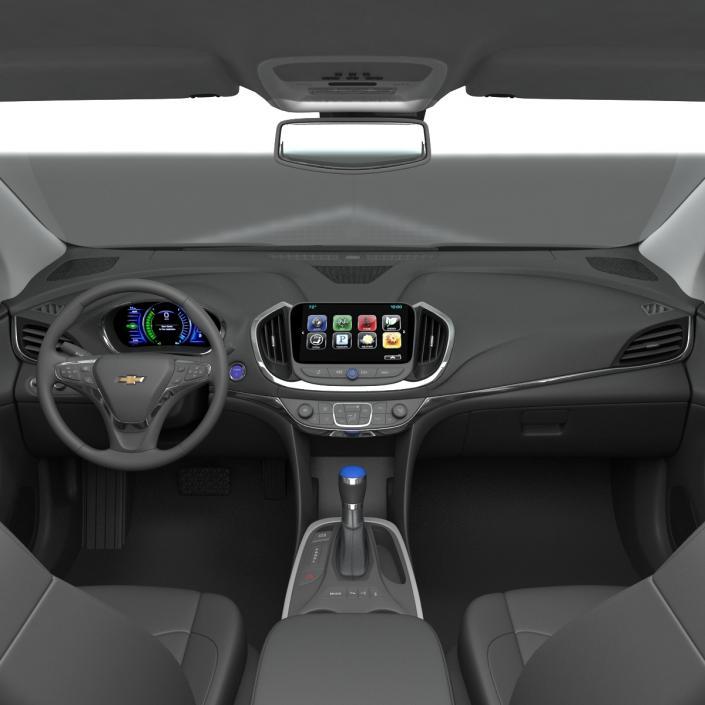 3D model Chevy Volt 2016