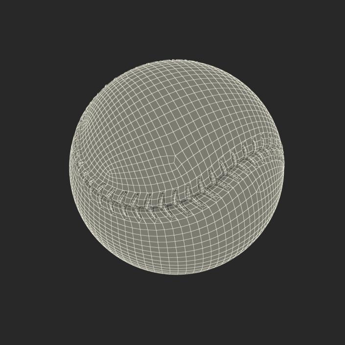 Baseball Ball Rawlings 3D