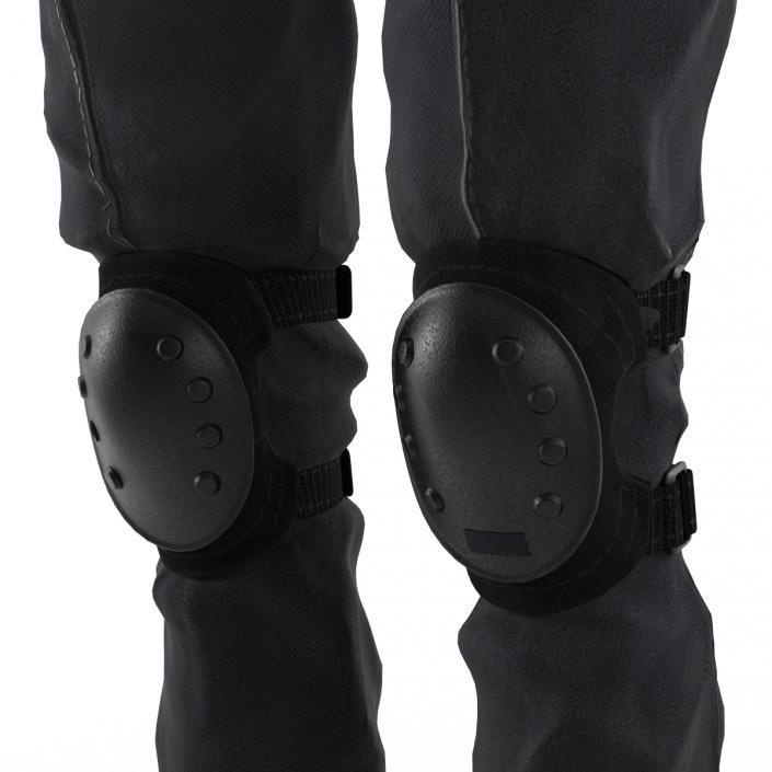 3D model SWAT Woman Unifirm 2