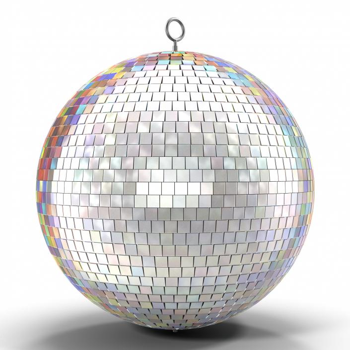 3D Disco Ball Rainbow model