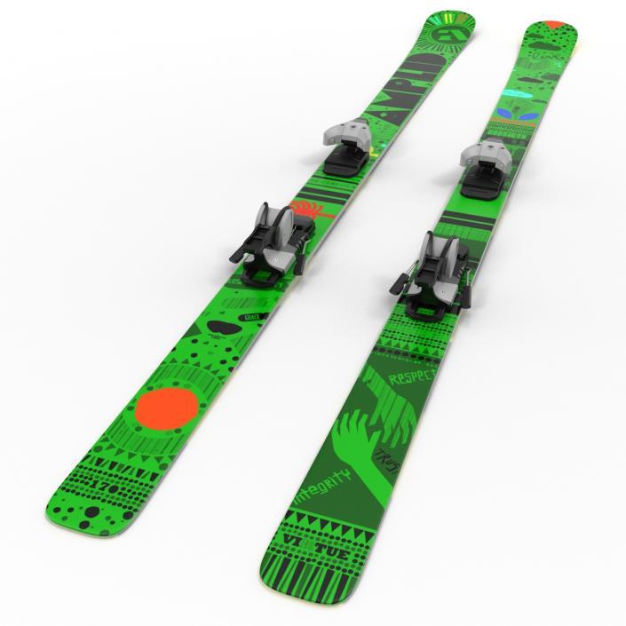 3D model Snow Ski 5