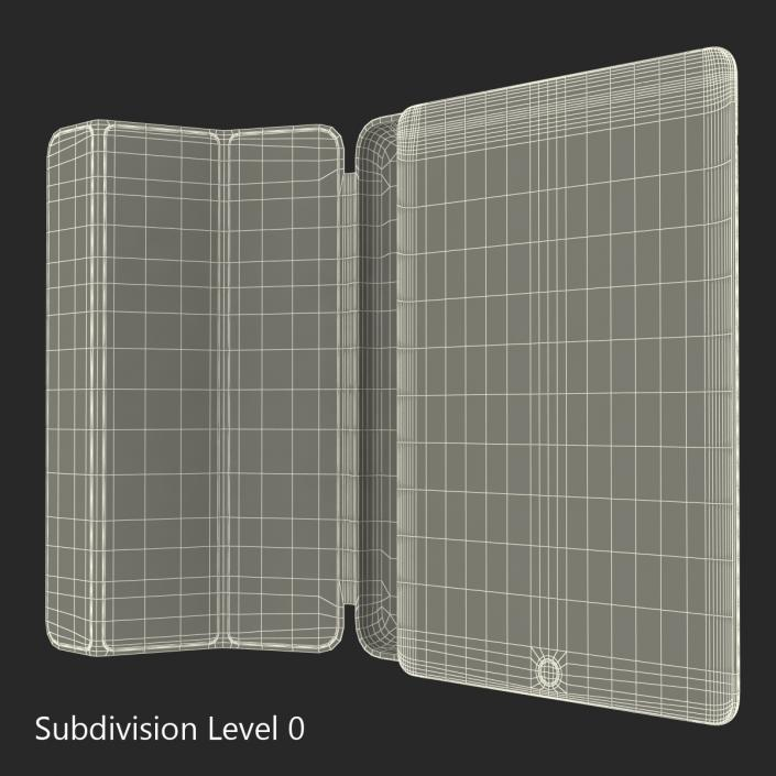 iPad Air 2 Silver and Smart Case 3D
