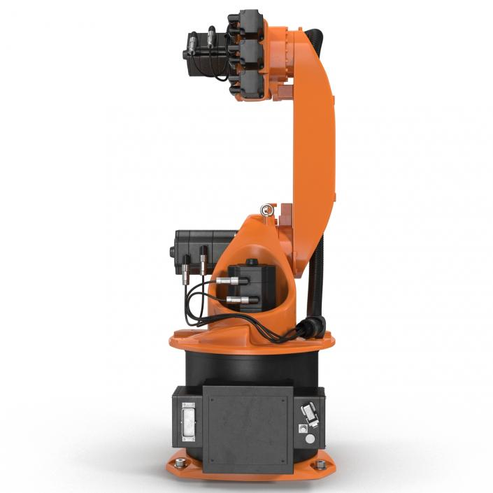 3D Kuka Robot KR 16-3 model