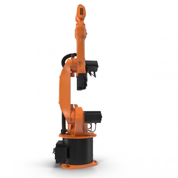 3D model Kuka Robot KR 16-3 Rigged
