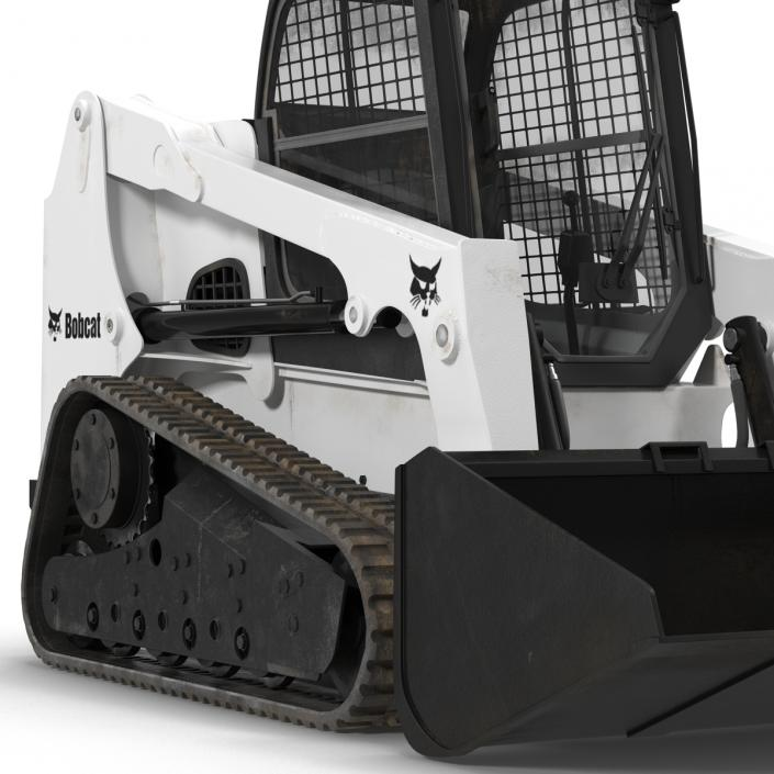 Bobcat Compact Tracked Front Loader 2 3D