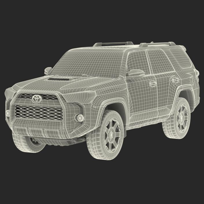 Toyota 4Runner 2015 3D model