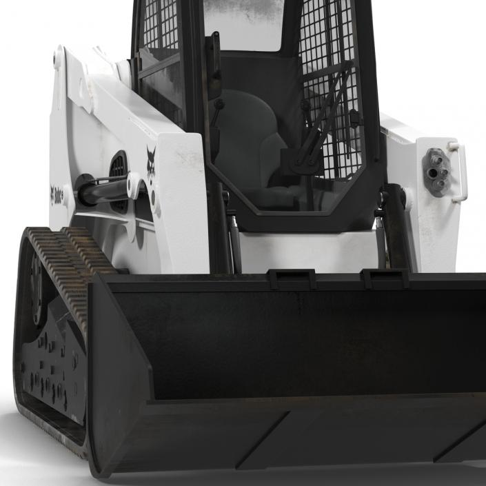Bobcat Compact Tracked Front Loader Rigged 2 3D model