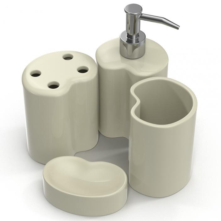 3D Bathroom Accessories 3D Models Set 2 | 3D Molier