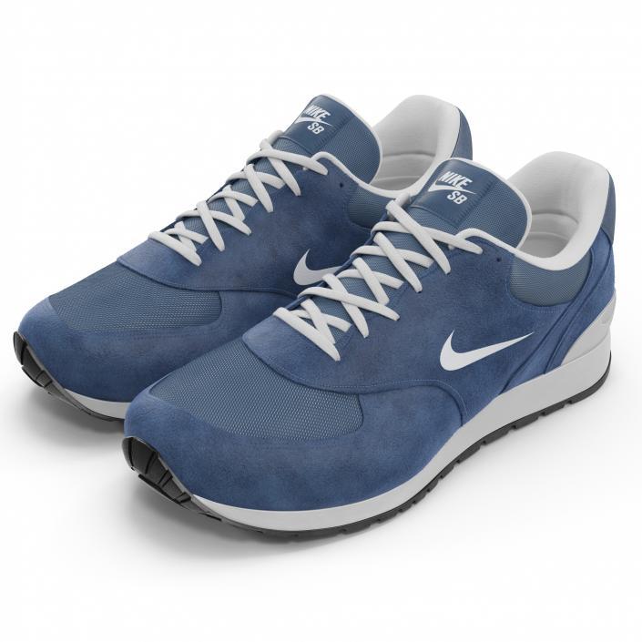 3D Sneakers Nike model