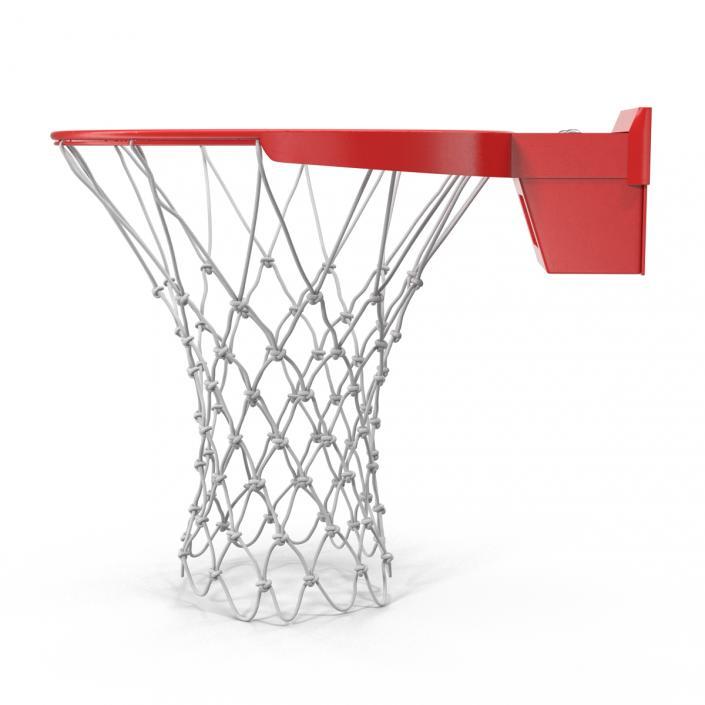 3D Basketball Rim Spalding model
